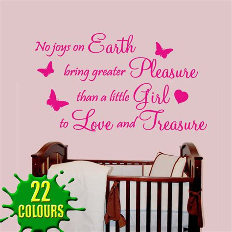 baby nursery wall stickers quotes no joys on earth wall decal sticker quote baby