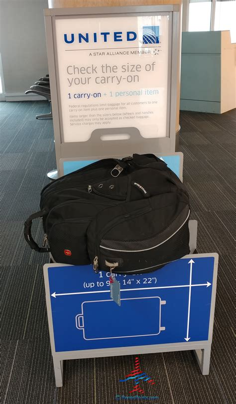 united airlines carry on size what is the united and american airlines carryon bag check
