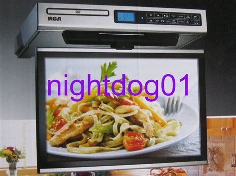 under cabinet kitchen tv dvd combo lcd tv dvd radio combo kitchen under cabinet sps36123 flip
