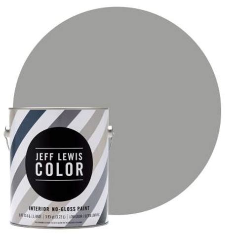 jeff lewis paint jeff lewis color 1 gal jlc414 gravel no gloss ultra low