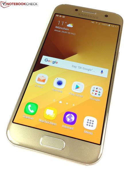 samsung galaxy test test samsung galaxy a3 2017 smartphone notebookcheck