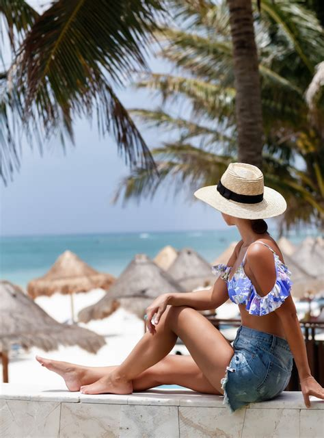 Your Swimming Suit by How To Style Your Bathing Suit The Everygirl