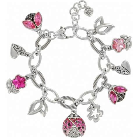 brighton ladybug flower dangle charm bracelet