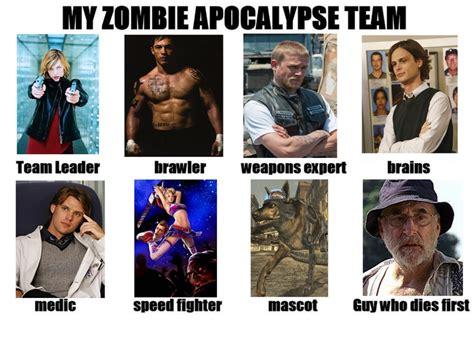 Zombie Team Meme - my zombie survival team quotes memes pinterest