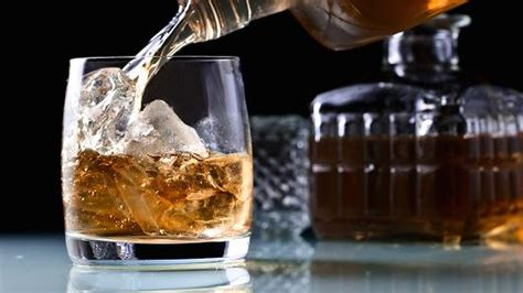 bourbon puts scotch on the rocks