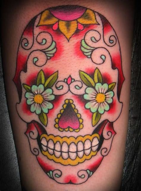 flower sugar skull tattoo designs 51 ultimate sugar skull tattoos amazing ideas