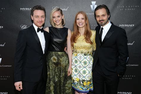 james mcavoy relationships james mcavoy and jessica chastain photos photos the