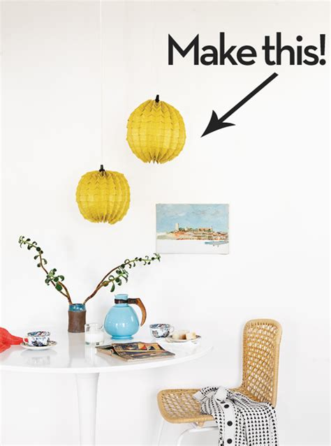 How To Make A Paper Light Shade - how to make a modern paper l shade curbly