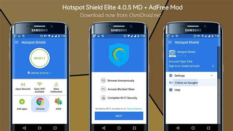 hotspot apk hotspot shield vpn 4 0 5 elite apk mod adfree md android