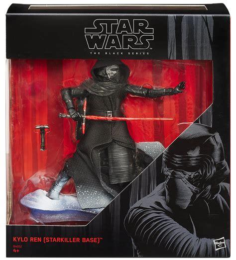 Figure Starwars The Black Series Kyloren kmart exclusive wars the awakens black series 6 inch kylo ren the toyark news