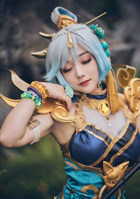 lux lunar empress cosplay  aza miyuko   breakbrunch