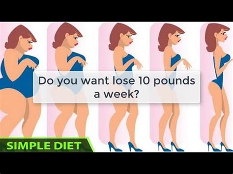 Shed 10 Pounds In A Week by Simple Diet Meal Plan How To Lose 10 Pounds In One Week