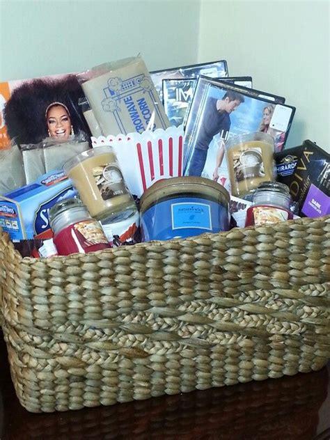 fall date night basket gift basket ideas pinterest