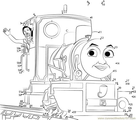 printable dot to dot train thomas friends dot to dot printable worksheet connect