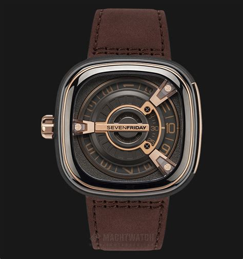 Jam Tangan Seven Friday Brown jam tangan original sevenfriday m series m2 02