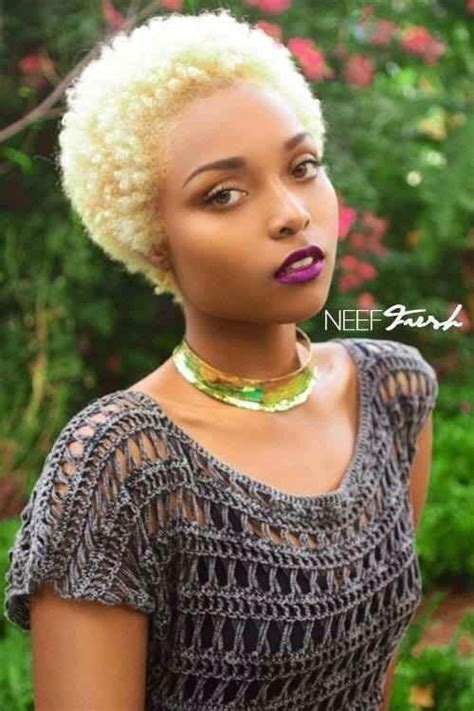 blonde natural haircuts i love black girls with blonde hair asia monet natural