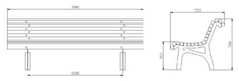 dimensioni panchine panchina in legno e ghisa vienna