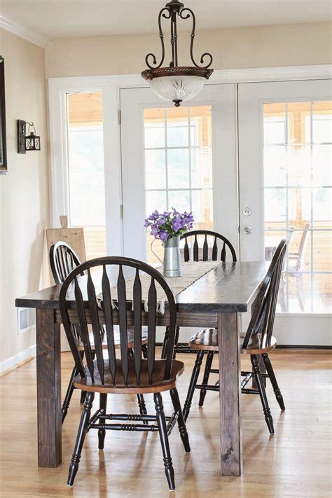 diy table with removable legs farmhouse table diy with removable legs img 7805