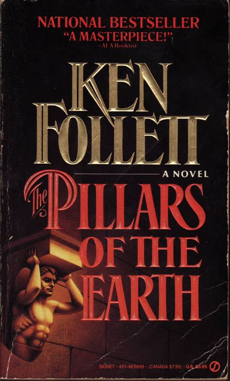 the pillars of books the pillars of the earth fab friday find book