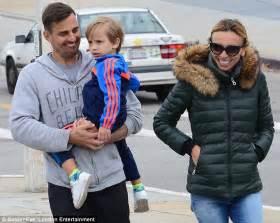 giuliana rancic son now giuliana rancic enjoys a stroll with husband bill and