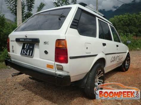 Toyota Dx Wagon For Sale Toyota Corolla Dx Wagon Car For Sale In Sri Lanka Ad Id