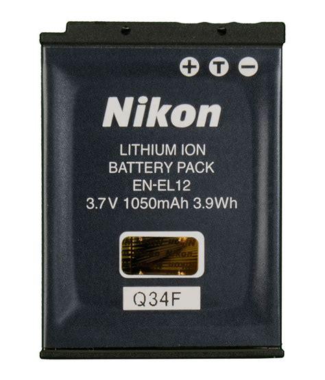 nikon coolpix aw100 en el 12 original battery snapdeal