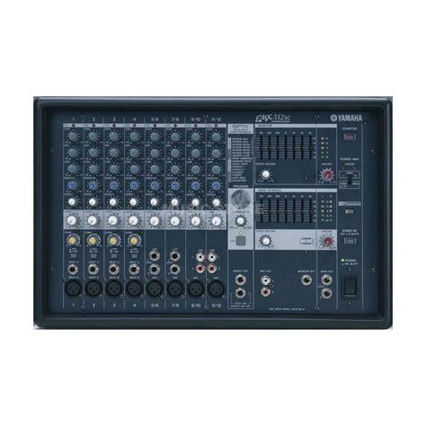Mixer Yamaha Emx 512 yamaha emx 512 sc 2x 500 watt powermixer