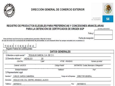 Certificado De Origen Mexico Newhairstylesformen2014com | certificados de origen en mexico