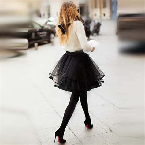 Diskon Rok Tutu 3 Warna eyecatching tulle skirt custom made mini bouffante puff knee length tutu skirt