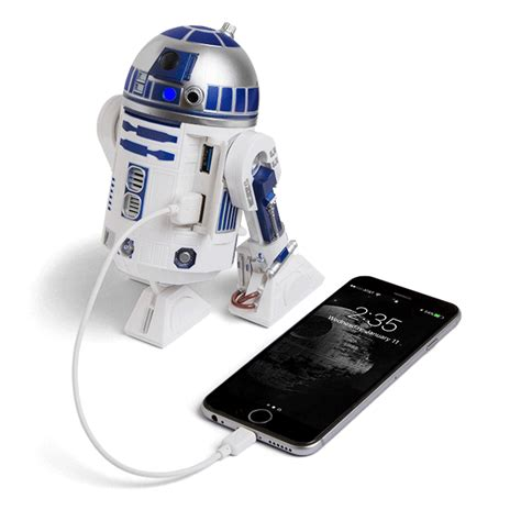 r2d2 car usb charger wars r2 d2 usb 3 0 charging hub thinkgeek