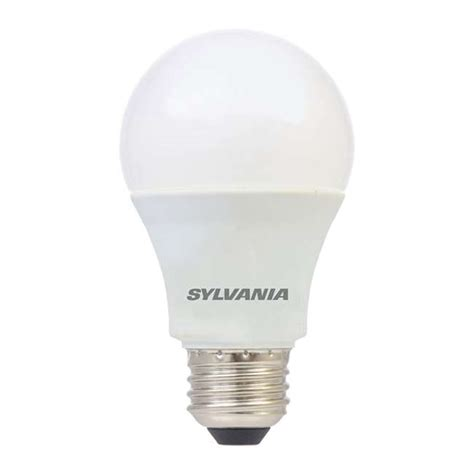 Sylvania A19 12 Watt 120 Volt E26 Base Clear Daylight Led 12 Volt Led Light Bulbs Standard Base