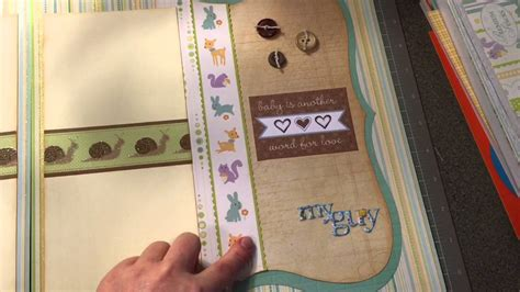 layout youtube game boy cricut layouts baby boy two page layout youtube