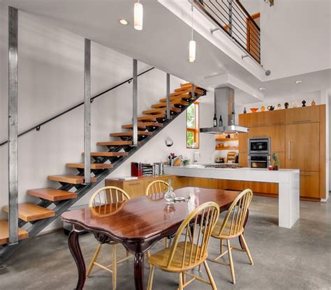 Kitchen Under Stairs Inspiration Eatwell101 Stairs Kitchen Design