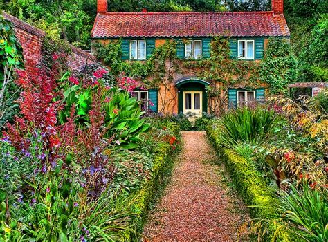cottage garden farm cottage garden gardening pretty was the