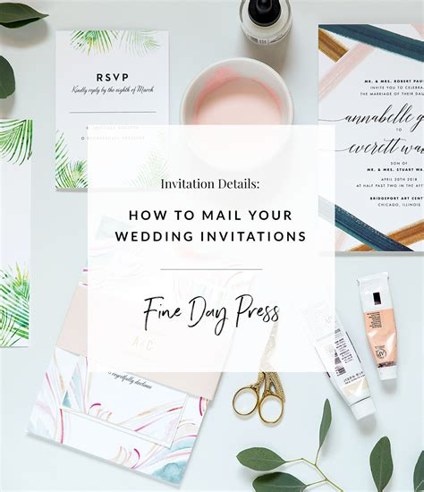 Wedding Invitations Mailing by How To Mail Wedding Invitations Day Press