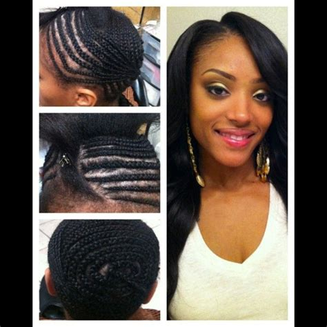 braid pattern for hair weave hair weave 137 best images about flawless hair sew in braid patterns