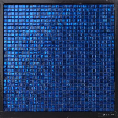 gm14 10 waterproof dark blue glass mosaic bathroom wall decorative tile gm14 10 7 20