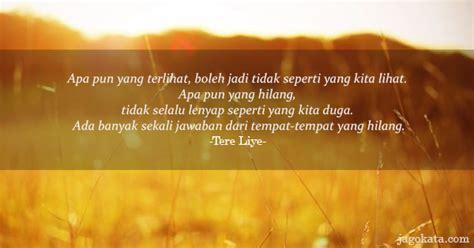 Sunset Dan Rosie Tere Liye tere liye kutipan kata bijak kata mutiara jagokata