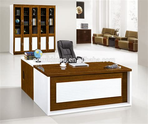 desktop table design manager office table designs in wood office computer table