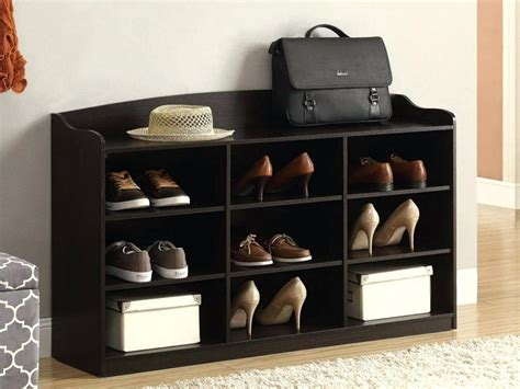 entryway table with shoe storage entryway shoe storage bench at end of bed stabbedinback