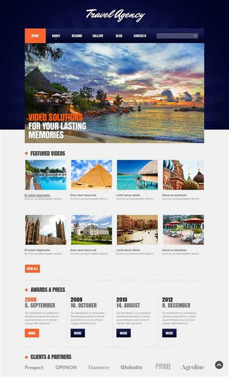 30 best travel joomla templates 2018 freshdesignweb