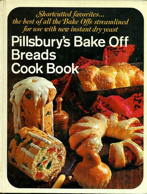 bread cookbook 25 recipes for baking bread at home with ease books pillsbury s bake breads cook book vintage 1968 yeast