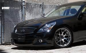 Infiniti G37 Rims Vmr Wheels 19 Quot Gunmetal V710 On Black Obsidian Infiniti