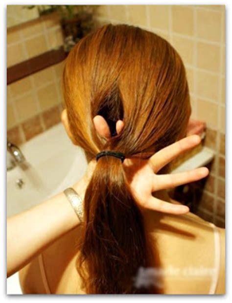 tutorial rambut panjang untuk wisuda kanubeea hair clip kreasi cepol cantik untuk rambut
