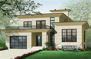 contemporary home plans plan of the week quot modern space quot drummond house plans