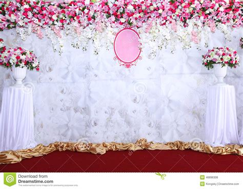 Backdrop Paper Flower Hiasan Jendela Ready Stock backdrop for wedding white flowers stock image beautiful arrangement backdrop flowers