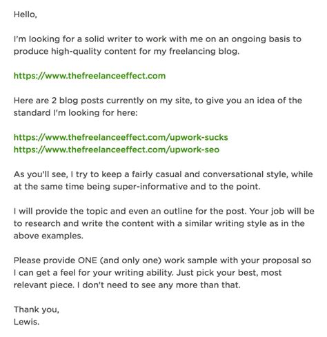 cover letter format for upwork lewis author at the freelance effect