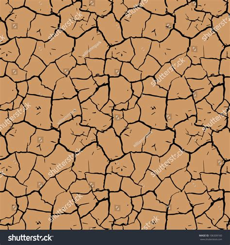 repeating pattern en français cracked mud repeating pattern stock vector illustration