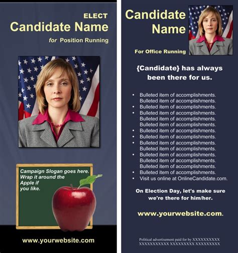 board campaign print templates slate blue and