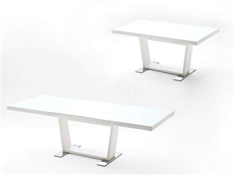 esszimmertisch 3m esstisch ausziehbar 160 240 x90x76cm tisch hochglanz